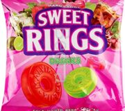 SWEET RINGS DRINKS /мохито, лесная ягода, кола/ (карамель) 2 кг /Малвикъ/